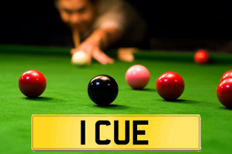 1 CUE owned by Jimmy White