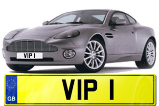 Celebrity Personalised Number Plates