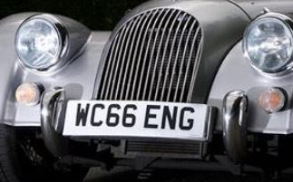 WC66ENG number plates