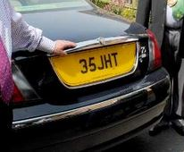 Number Plate 35 JHT