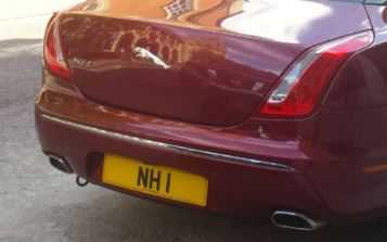 Number Plate NH 1 Registration