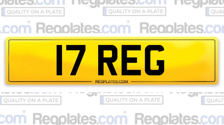17 Series Number Plate Release