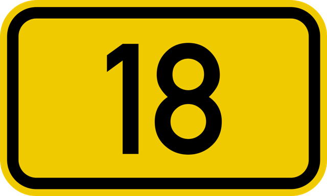 18 Series Number Plates
