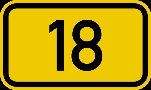 18 Series Number Plates