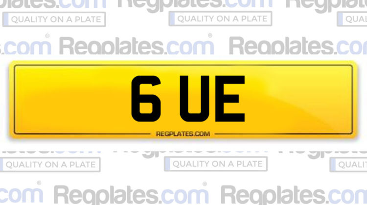 Personalised reg plates