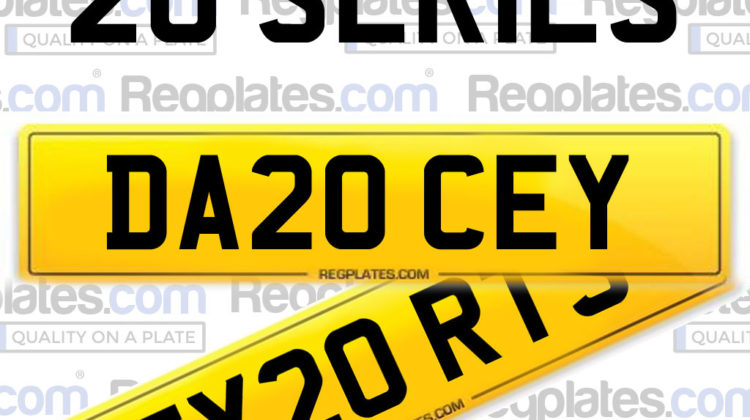 20 series dvla number plates