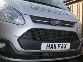 HALIFAX Personalised Number Plates - Regplates.com