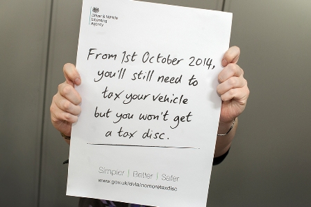 Tax Disc Changes at the DVLA
