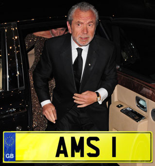 Sir Alan Sugar AMS 1