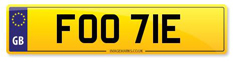 Footy Number Plates at Regplates.com