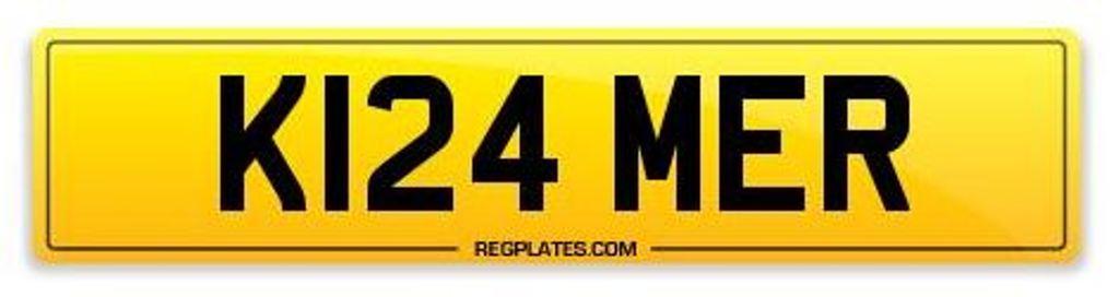 Kramer Number Plate K124 MER