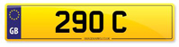 Personalised Number Plate 290 C