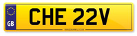 Personalised Number Plates CHE 22V
