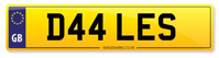 Personalised Number Plates D44 LES
