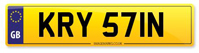 Personalised Number Plates KRY 571N