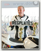 Regplates Rider Ian Popplewell Thunersport Racer Wins Again!