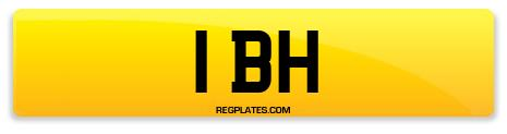 Registration 1 BH
