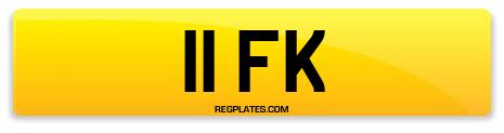 Registration 11 FK