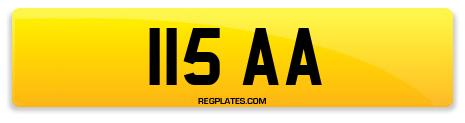 Registration 115 AA