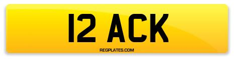 Registration 12 ACK