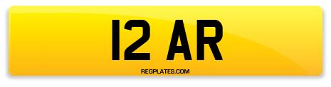 Registration 12 AR