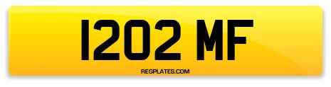 Registration 1202 MF