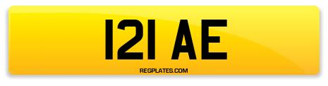 Registration 121 AE