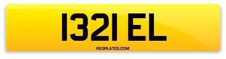 Registration 1321 EL
