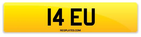 Registration 14 EU