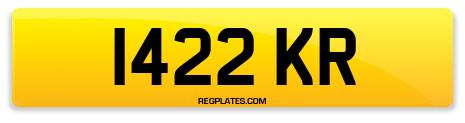 Registration 1422 KR