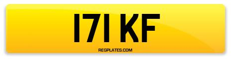 Registration 171 KF