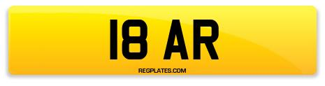 Registration 18 AR