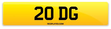 Registration 20 DG