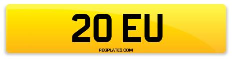 Registration 20 EU