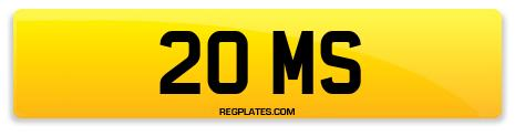 Registration 20 MS