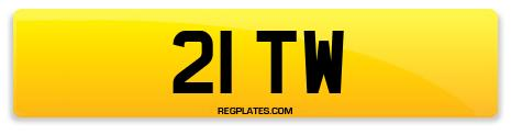 Registration 21 TW