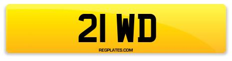 Registration 21 WD