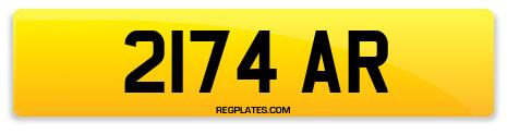 Registration 2174 AR