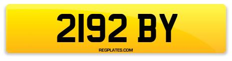 Registration 2192 BY