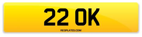 Registration 22 OK
