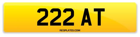 Registration 222 AT