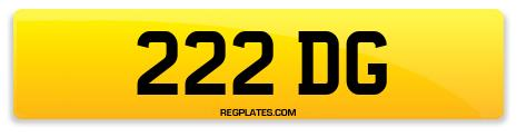 Registration 222 DG