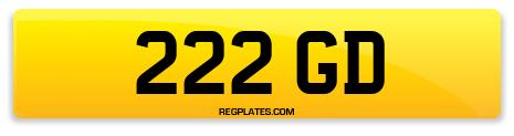 Registration 222 GD