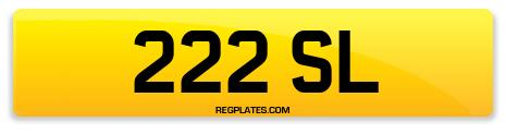 Registration 222 SL
