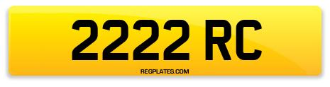Registration 2222 RC