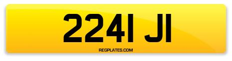 Registration 2241 JI