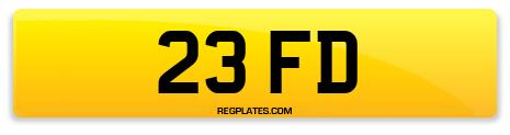 Registration 23 FD