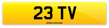 Registration 23 TV