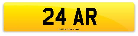 Registration 24 AR