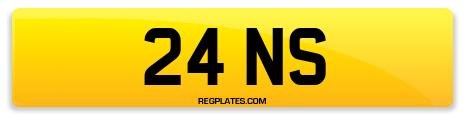 Registration 24 NS